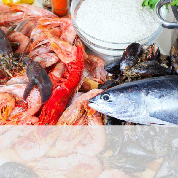 pește & fructe de mare